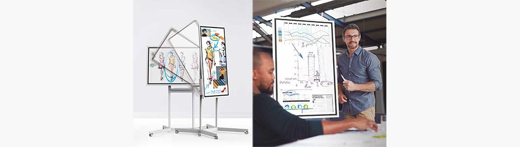 Paperboard interactif - Samsung WM55H Flip